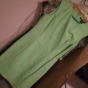Mint green French connection dress in size 8